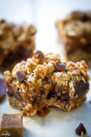 Oatmeals Carmelitas make a decadent sweet treat