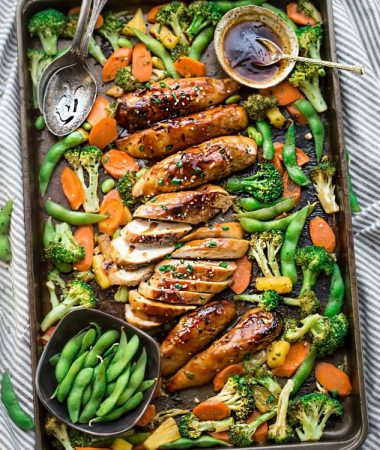 One Pan Teriyaki Chicken with Vegetables + VIDEO