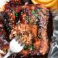 Orange Sesame Salmon in Foil