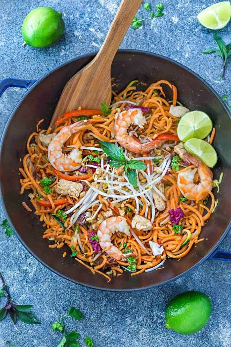 Pad Thai Sweet Potato Noodles