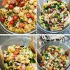 Pasta Salad – 4 Ways – Meal Prep + VIDEO