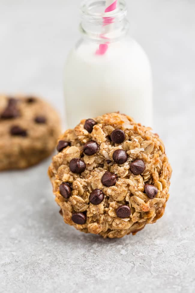 Peanut Butter Chocolate Chip Breakfast Cookies - 12 Ways - switch up your snack lineup with these easy make ahead breakfast cookies for busy on-the-go mornings. Best of all, these recipes are all gluten free, refined sugar free with nut free, paleo / low carb / keto options.