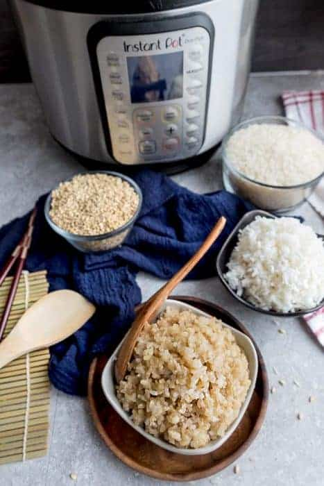 Instant Pot Rice – How to Cook the Perfect Bowl of White or Brown Rice