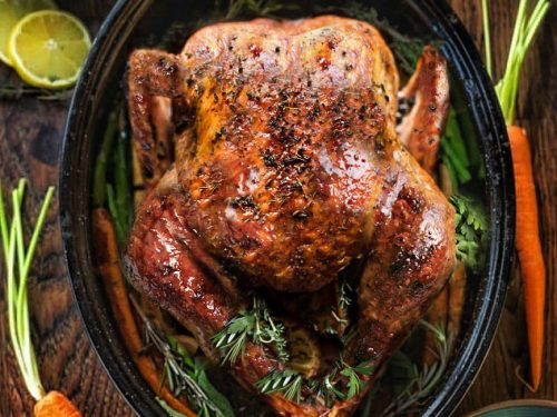 How To Roast A Turkey The Best Juicy Fool Proof Turkey