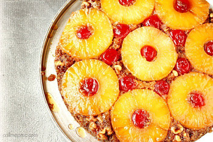 Pineapple Upside Down Carrot Cake