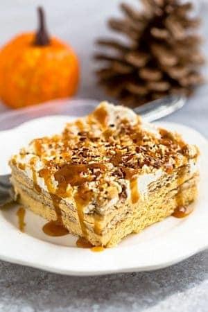 Pumpkin Icebox Cake + Video