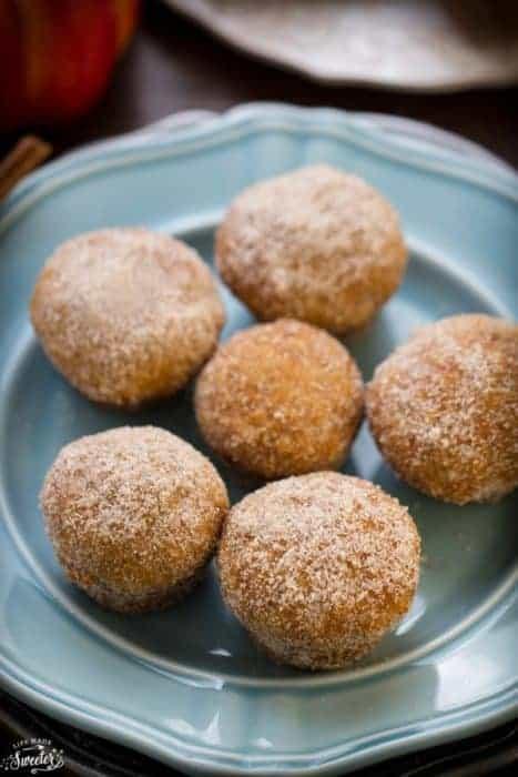 Pumpkin Nutella Donut Muffins make the perfect fall treat.