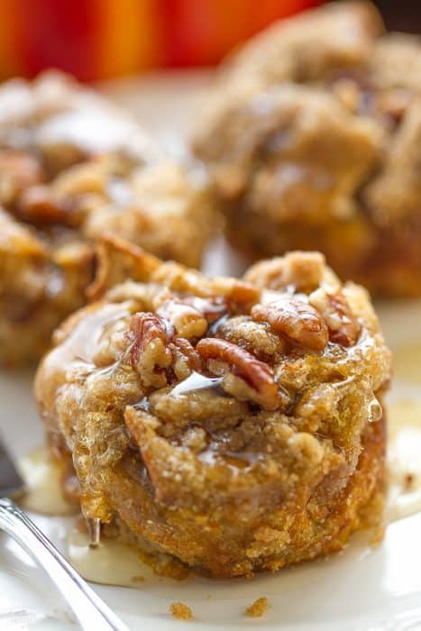 Pumpkin Streusel Nutella French Toast Cups make the perfect breakfast for special weekends.