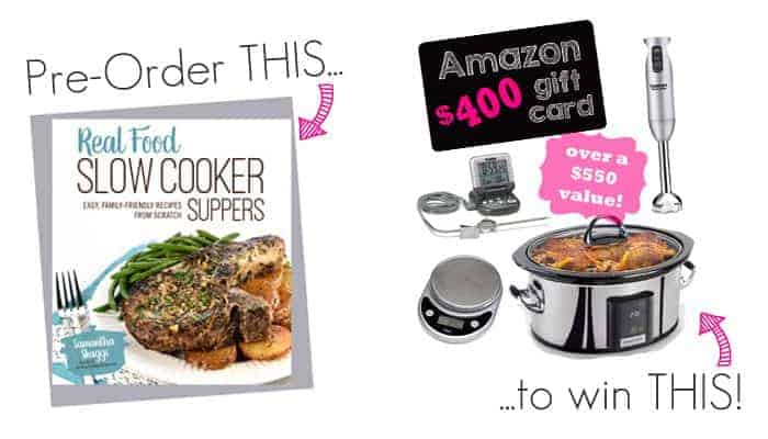 Real Food Slow Cooker Suppers Giveaway!