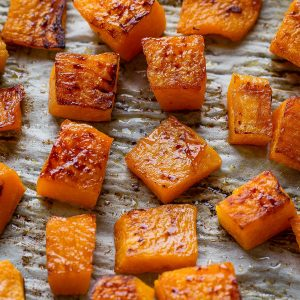 Roasted Butternut Squash make the perfect easy side dish