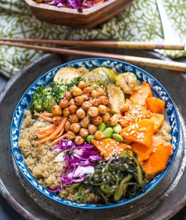 Roasted Vegetable Buddha Bowls make the perfect healthy meal