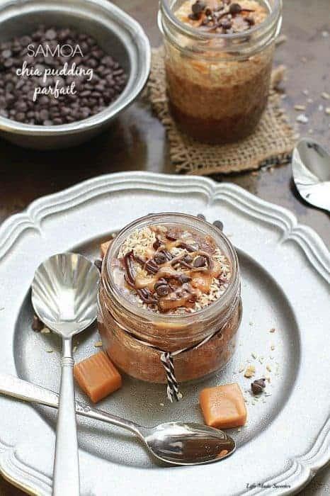 Samoa Chia Pudding Parfait