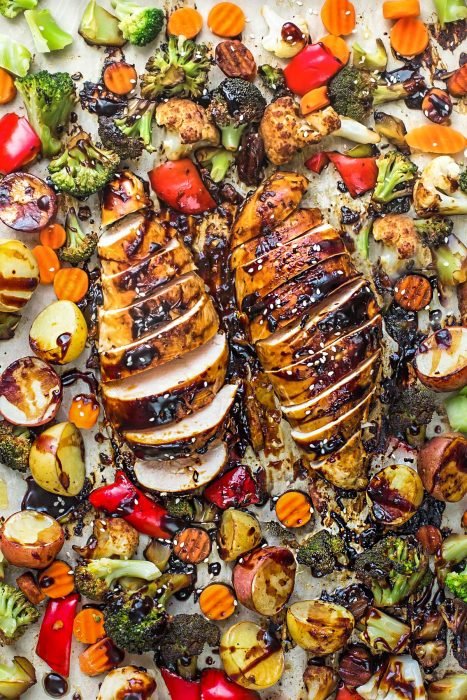 Sheet Pan Hoisin Chicken + Video