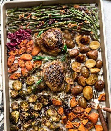 Sheet Pan Turkey – Healthy One Pan Dinner