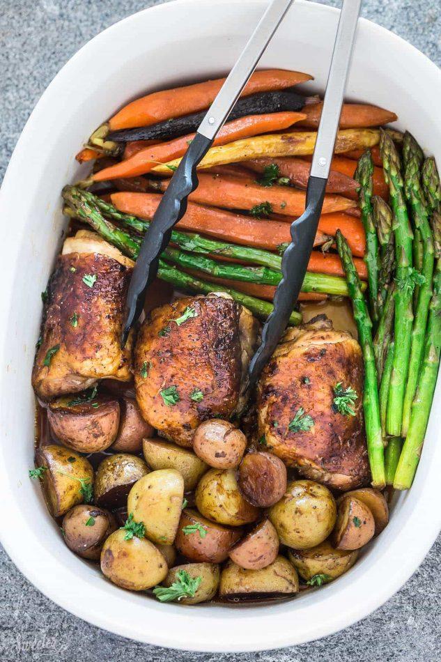 Slow Cooker Harvest Chicken And Vegetables Easy Crock