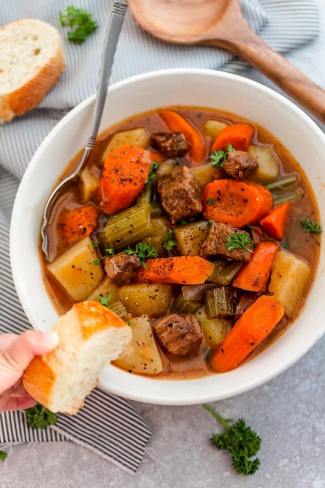 Slow Cooker Beef Stew The Best Crockpot Beef Stew