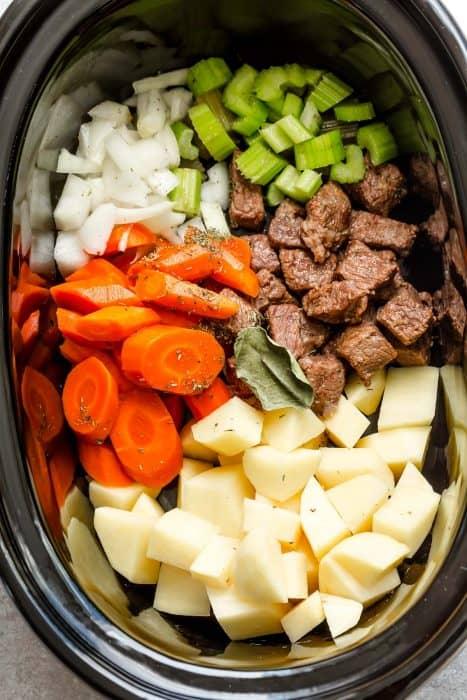 Slow Cooker Beef Stew The Best Crockpot Beef Stew