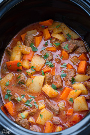 Slow Cooker Beef Stew is a classic comforting meal perfect for a chilly day