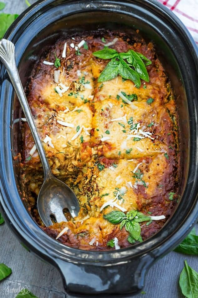 Slow Cooker Lasagna Easy Crock Pot Lasagna Dinner Recipe