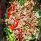 Easy Slow Cooker Chicken Lo Mein Noodles {Crock-pot} + VIDEO