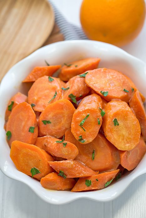 Slow Cooker Orange Glazed Carrots