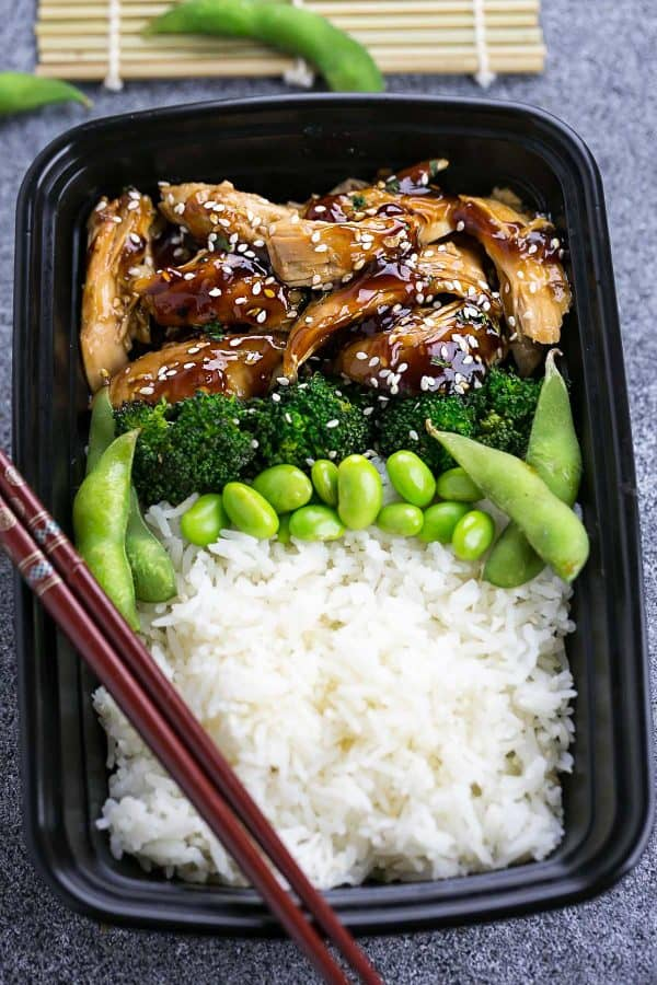 Slow Cooker Chicken Teriyaki makes the perfect easy set and forget crock-pot meal. Best of all, only 10 minutes of prep with a delicious homemade Teriyaki sauce. Skip the takeout!