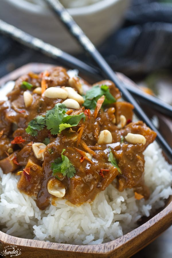 Easy Spicy Thai Slow Cooker Chicken Recipes — Dishmaps