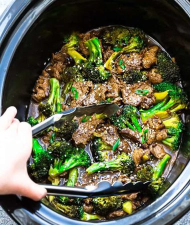 Slow Cooker Beef and Broccoli (plus Instant Pot)