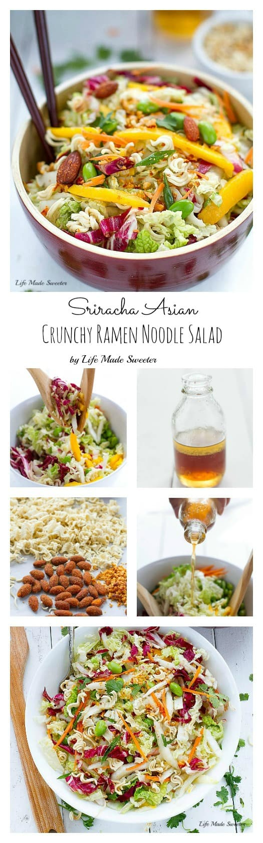 So simple, healthy & amazing! Restaurant quality made at home & perfect for potlucks & never any leftovers! aka Chinese Chicken Salad