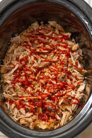 Sriracha Maple Pulled Pork Mini Pot Pies make the perfect comforting dish for fall!
