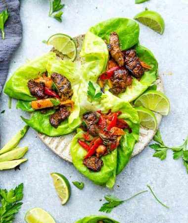 Chili Lime Steak Lettuce Wraps