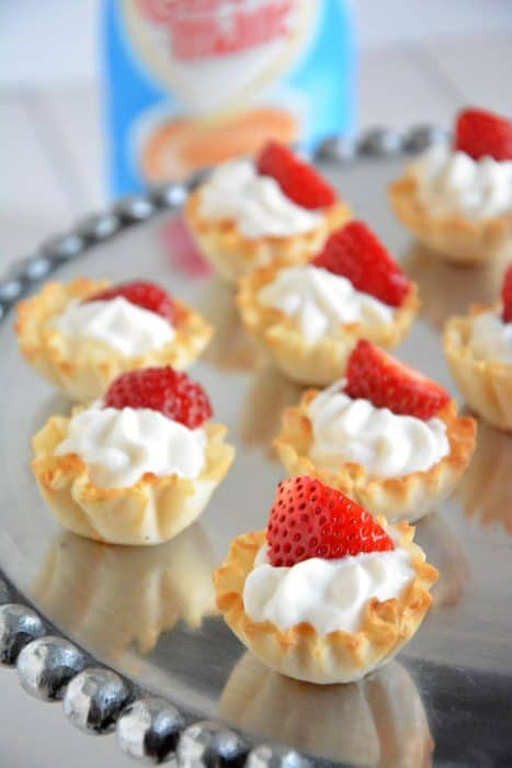Strawberries and Cream Tarts