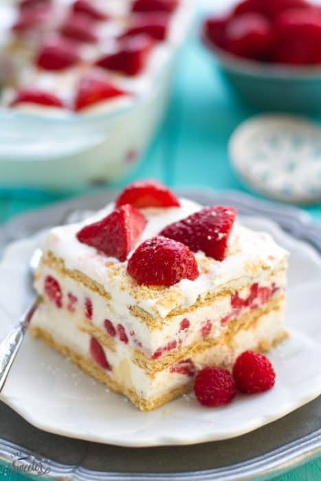 Strawberry Icebox Cake + Recipe VIDEO!