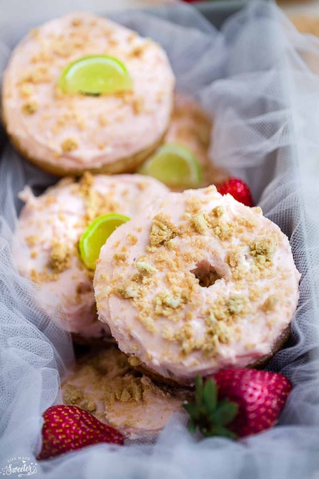 Strawberry Margarita Oreo Donuts make the perfect celebratory treat