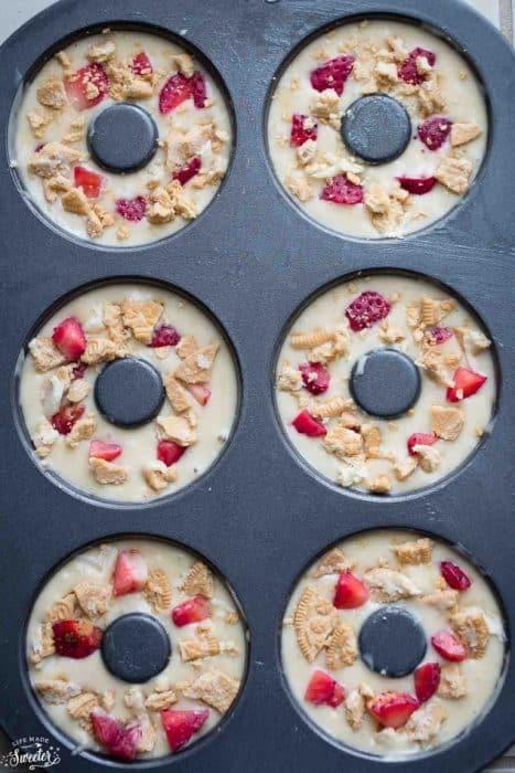 Strawberry Margarita Oreo Donuts make the perfect sweet treat!