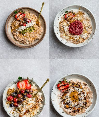 Keto Oatmeal – 4 Ways – Low Carb / Paleo / Sugar Free