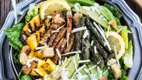 Asian ceasar salad