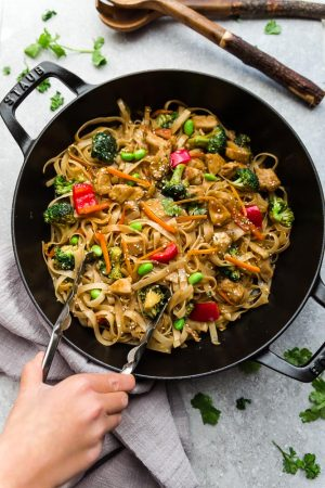 Teriyaki Chicken Noodles – Easy One Pot Stir Fry