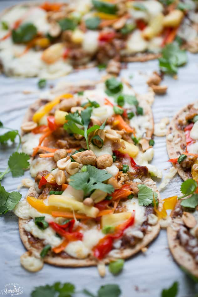 Thai Flatbread Pizza Recipes — Dishmaps