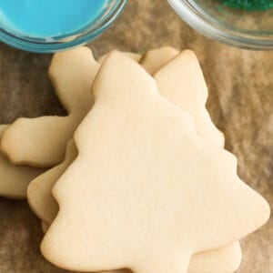 The Best Sugar Cookie Recipe For Cut Out Shapes Christmas Cookies