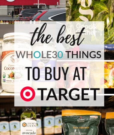 Collage of Whole foods at Target