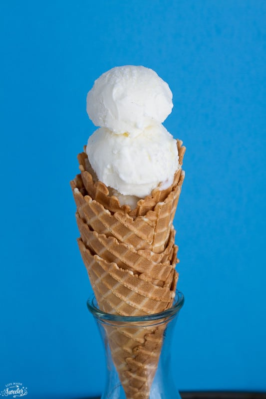 The Creamiest Easiest No Churn Vanilla Ice Cream