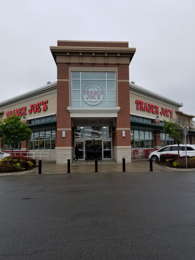 The outside of a Trader Joe's store