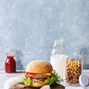 Turkey and Chickpea Burger