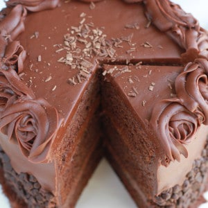 Ultimate Triple Chocolate Cake is the perfect dessert for a birthday or any special occasion.