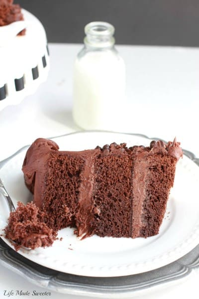 Triple Chocolate Layer Cake - Life Made Sweeter