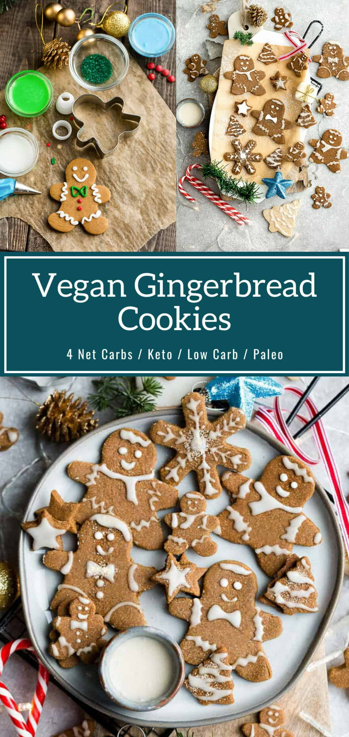Vegan Gingerbread Cookies Recipe
