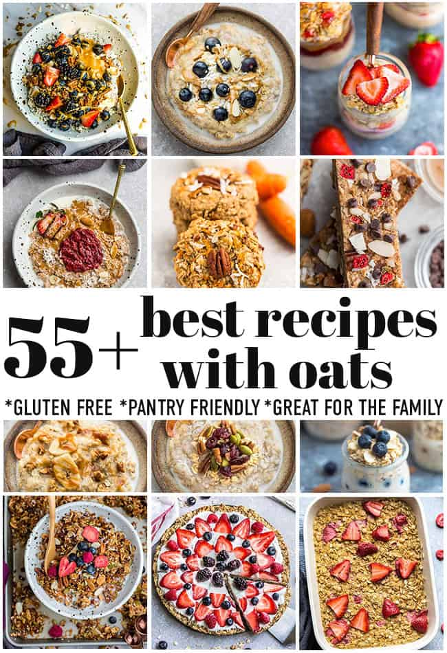 featured image for the best oats recipes