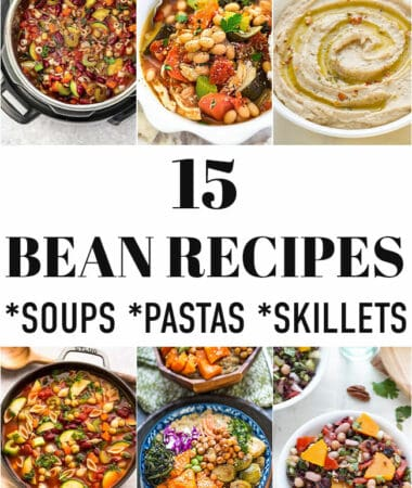 Featured image of bean recipes