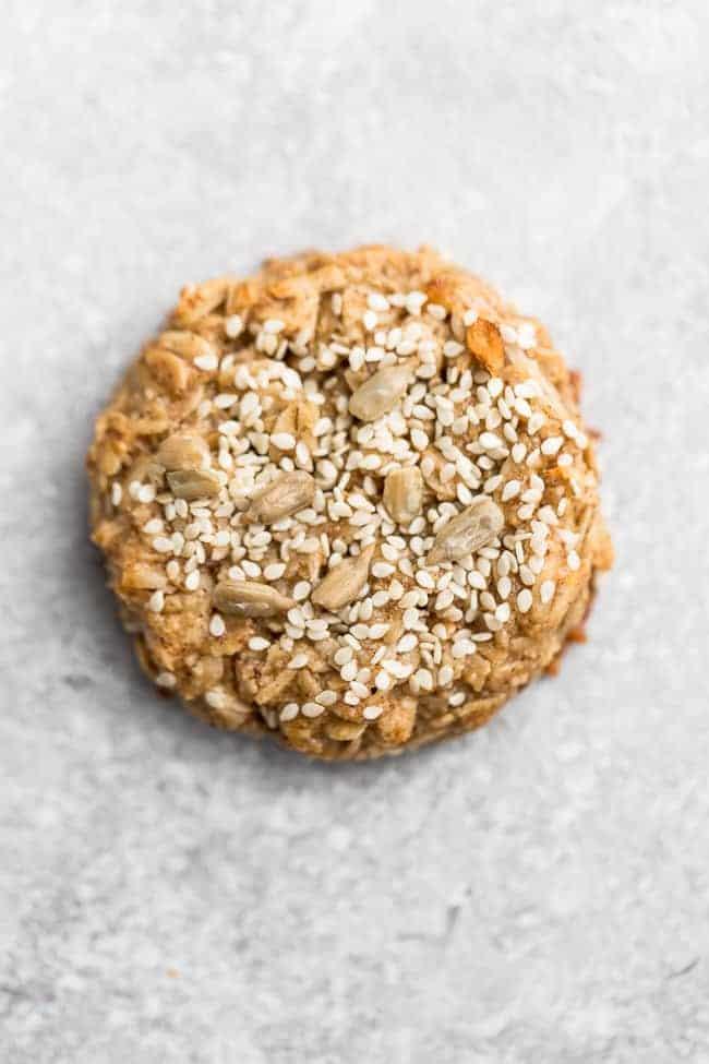 Tahini cookies with sesame seeds make the perfect eggless dessert.